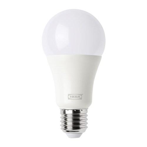 Storslåede TRÅDFRI LED-pære E27 1000 lumen - IKEA DR02