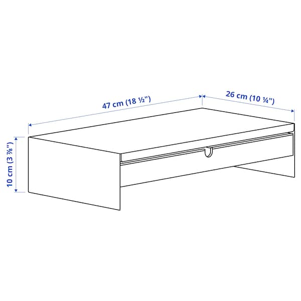 TROTTEN/LÅNGFJÄLL / BESTÅ/LAPPVIKEN Skrivebords- og opbevaringskombina, og drejestol hvid/grå