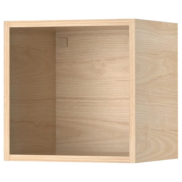 TUTEMO Åbent skab, ask, 40x37x40 cm