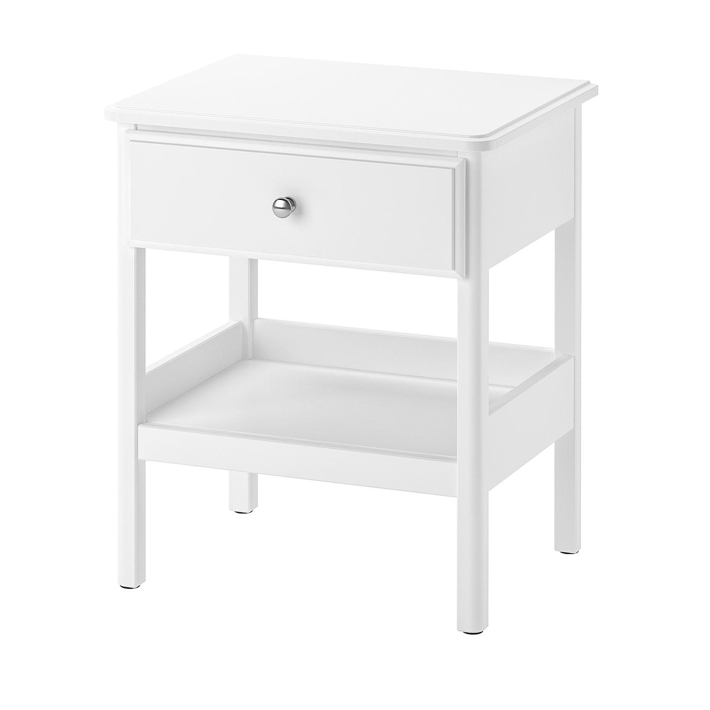 Picture of: Tyssedal Sengebord Hvid 51×40 Cm Ikea