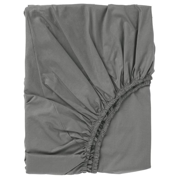 ULLVIDE Formsyet lagen, grå, 90x200 cm