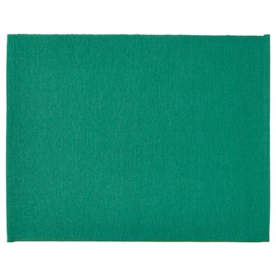 UTBYTT Dækkeserviet, mørkegrøn, 35x45 cm