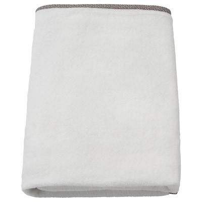 VÄDRA Betræk til puslepude, hvid, 48x74 cm