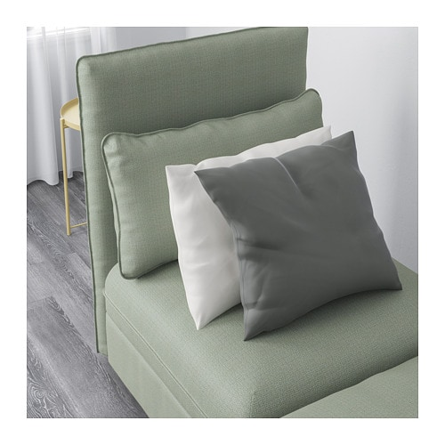 VALLENTUNA 3-pers. sofa med seng - Hillared grøn - IKEA