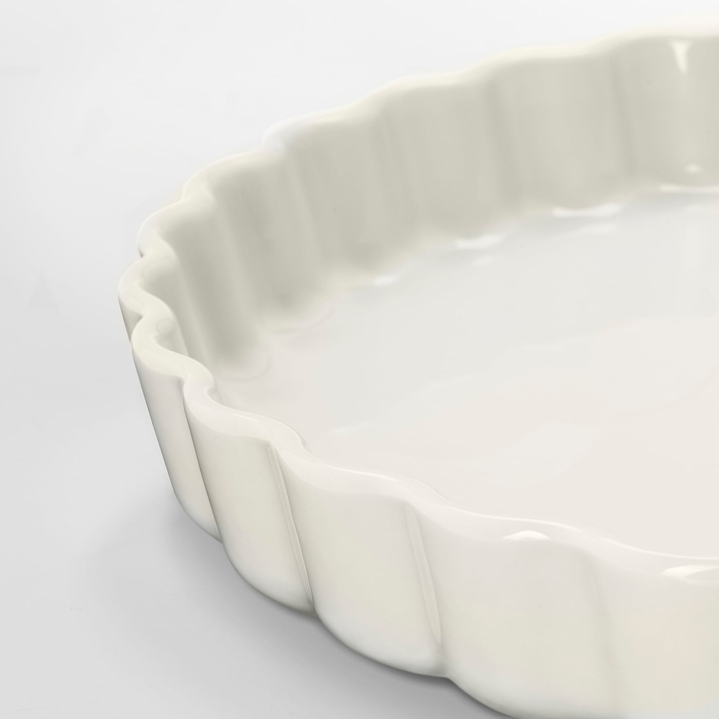VARDAGEN Tærteform, råhvid, 32 cm