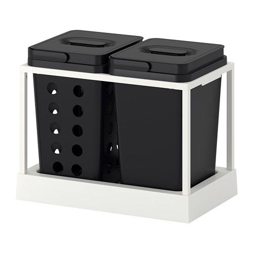 VARIERA / UTRUSTA Affaldssortering til skab IKEA