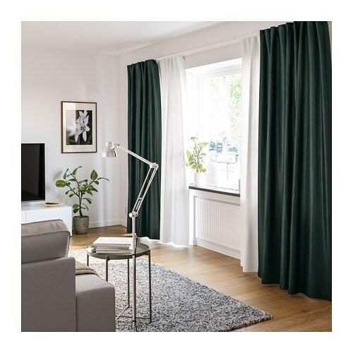 Glimrende VIDGA Gardinskinne, 1 spor - IKEA YW-16