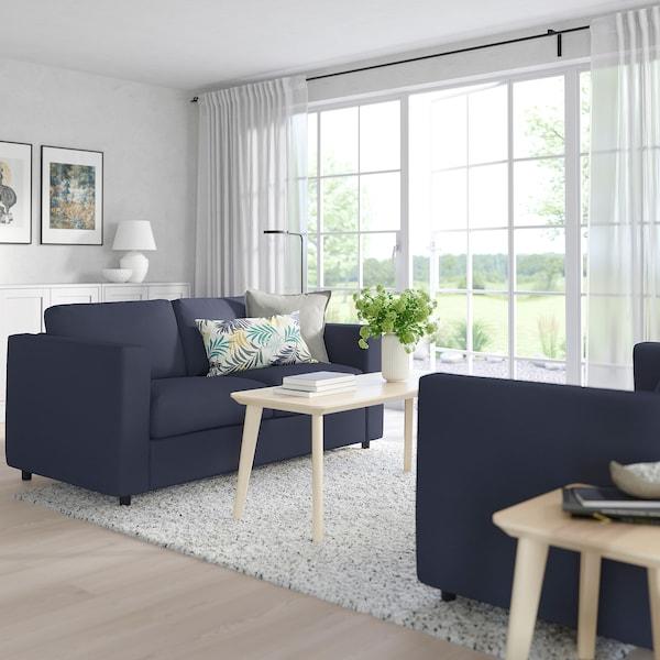 VIMLE 2-pers. sofa, Orrsta sortblå