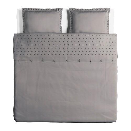 vinranka dynebetr k og 2 pudebetr k 240x220 60x70 cm ikea. Black Bedroom Furniture Sets. Home Design Ideas
