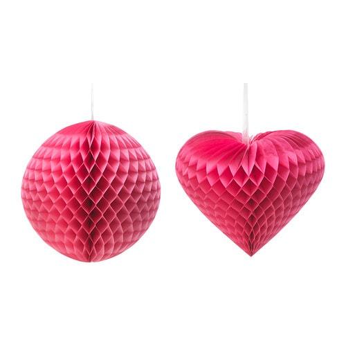 VISIONÄR Dekoration , forskellige modeller pink Diameter: 50 cm