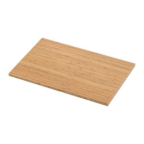 VISKAN Bordplade - bambus - IKEA