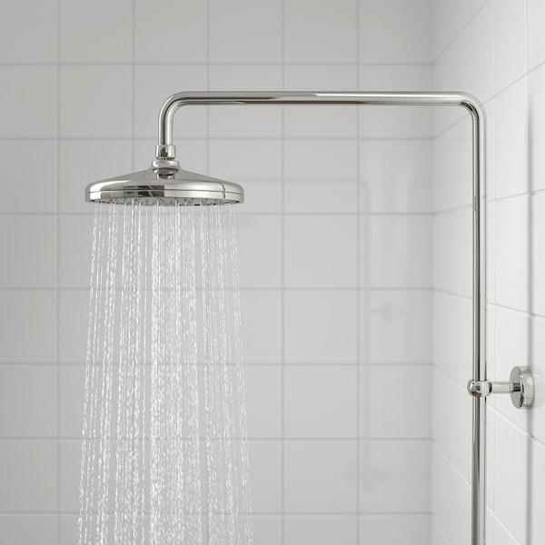 VOXNAN Brusebadssæt med termostatarmatur, forkromet
