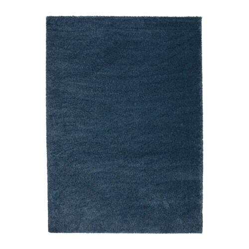 Ikea Blue Round Rug: ÅDUM Rug, High Pile