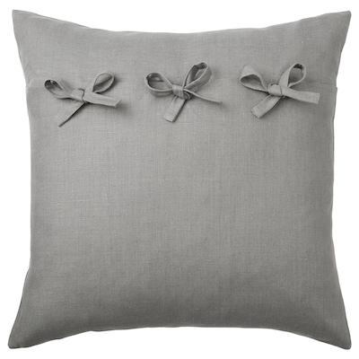AINA غطاء وسادة, رمادي, 50x50 سم