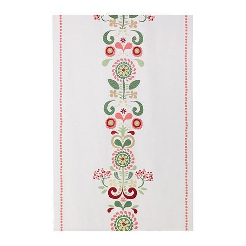 ÅKERKULLA Panel curtain, multicolour