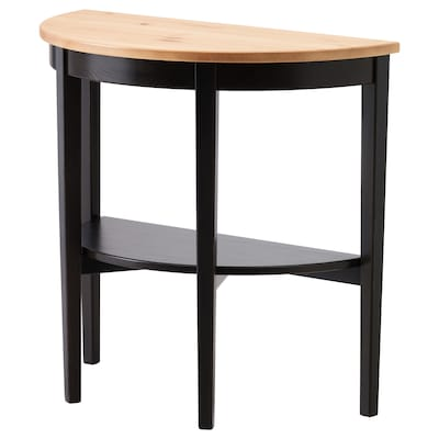 ARKELSTORP Window table, black, 80x40x75 cm