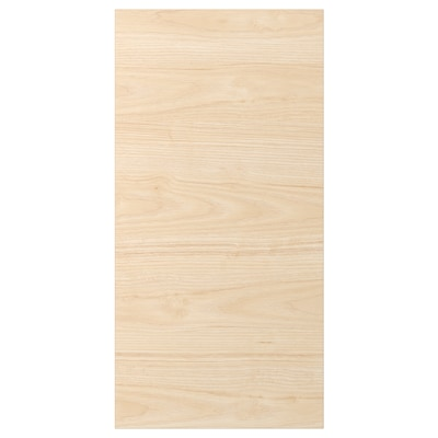 ASKERSUND Door, light ash effect, 40x80 cm