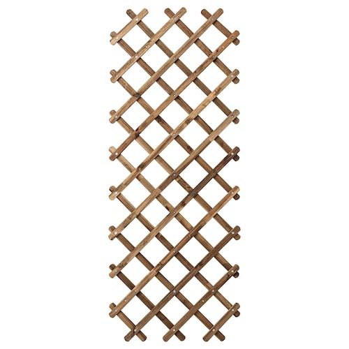 ASKHOLMEN trellis light brown stained 72 cm 3 cm 190 cm