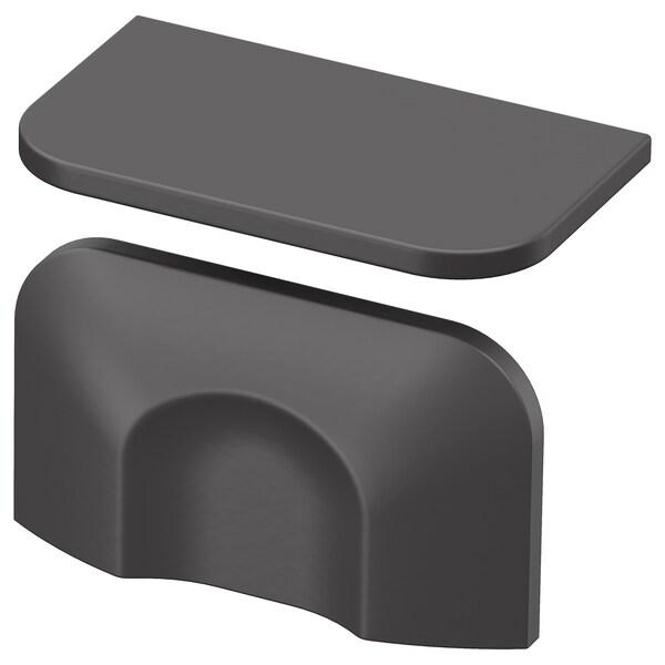 BERGHALLA Handle, grey, 56 mm