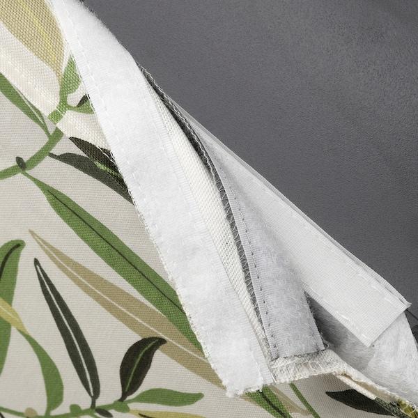 BERGMUND Chair cover, Fågelfors multicolour
