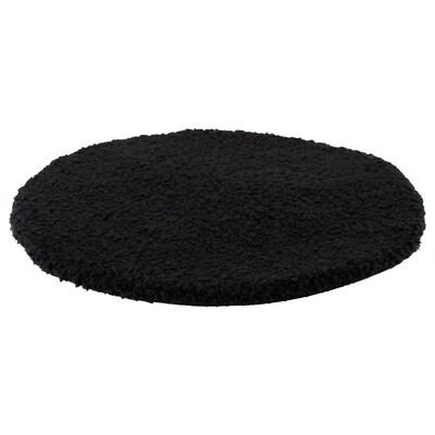 BERTIL وسادة كرسي, أسود, 33 سم