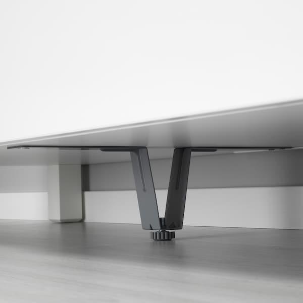 BESTÅ Supporting leg, grey, 10 cm