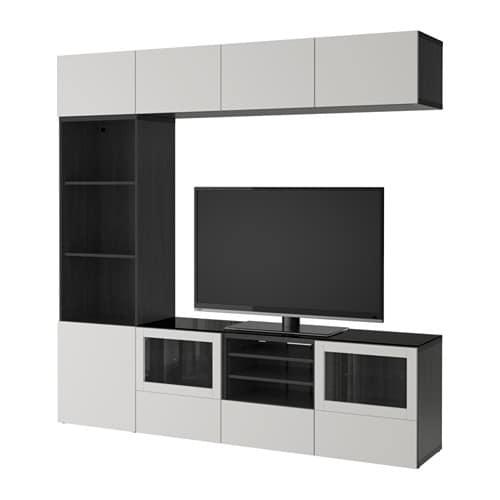 Ordinaire BESTÅ TV Storage Combination/glass Doors