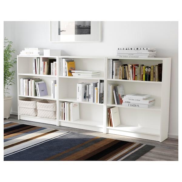 BILLY مكتبة, أبيض, 240x28x106 سم