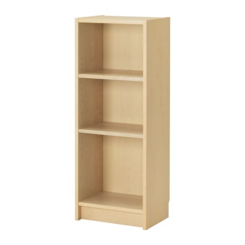 Ikea Poang Chair Max Weight ~ BILLY Bookcase Narrow shelves help you to use small wall spaces
