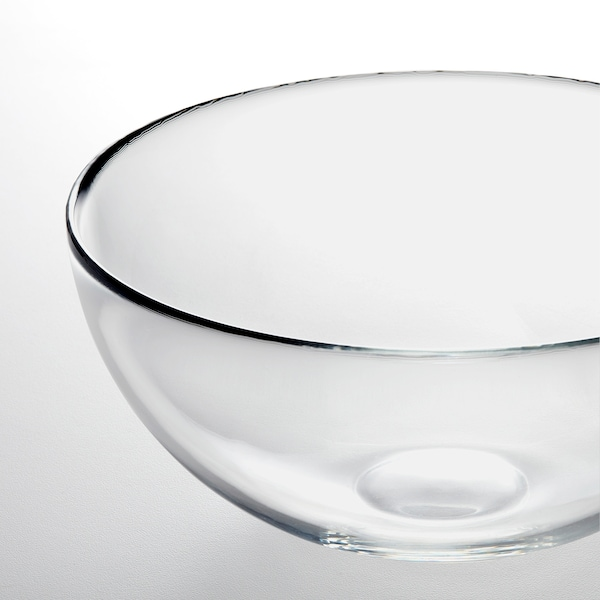 BLANDA طبق تقديم عميق., زجاج شفاف, 20 سم