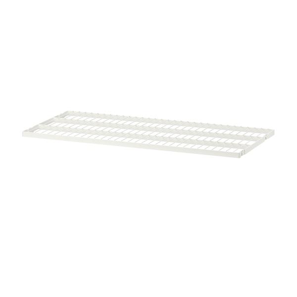 BOAXEL Wire shelf, white, 80x40 cm