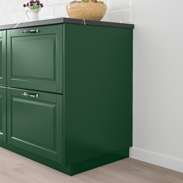 BODBYN Cover panel, dark green, 39x240 cm