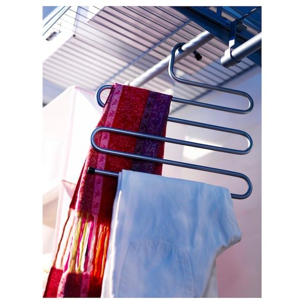 BRALLIS علاّقة ملابس, لون-فضي