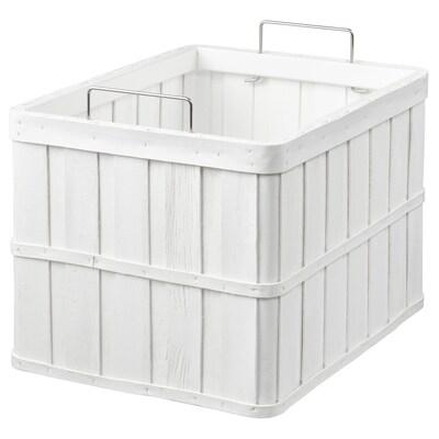 BRANKIS سلة, أبيض, 36x27x23 سم