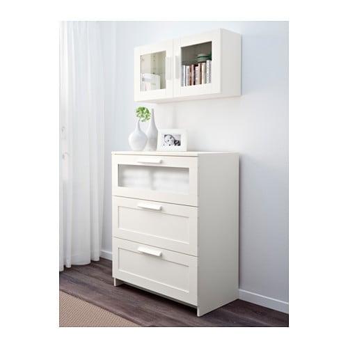Elegant BRIMNES Wall Cabinet With Glass Door   Black   IKEA
