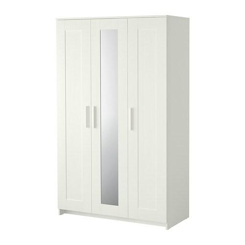 Kleiderschrank ikea  BRIMNES Wardrobe with 3 doors - IKEA