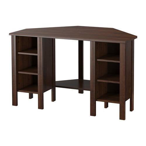 Awesome BRUSALI Corner Desk IKEA You Can Customise Your Storage As Needed, Since  The Shelves Are Part 8