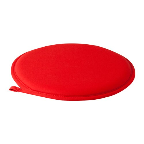 CILLA Chair pad, red