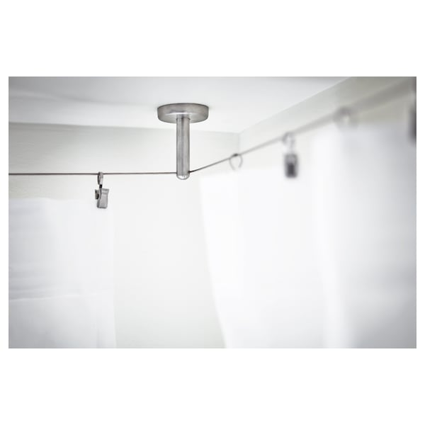 DIGNITET Support/corner fitting, stainless steel