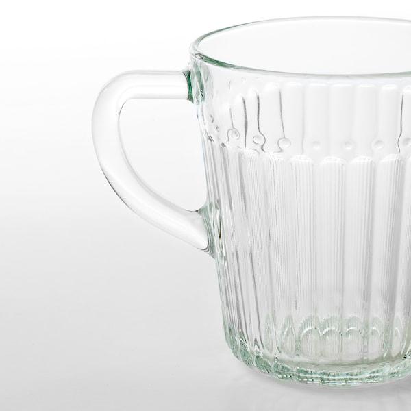 DRÖMBILD كوب, زجاج شفاف, 25 سل