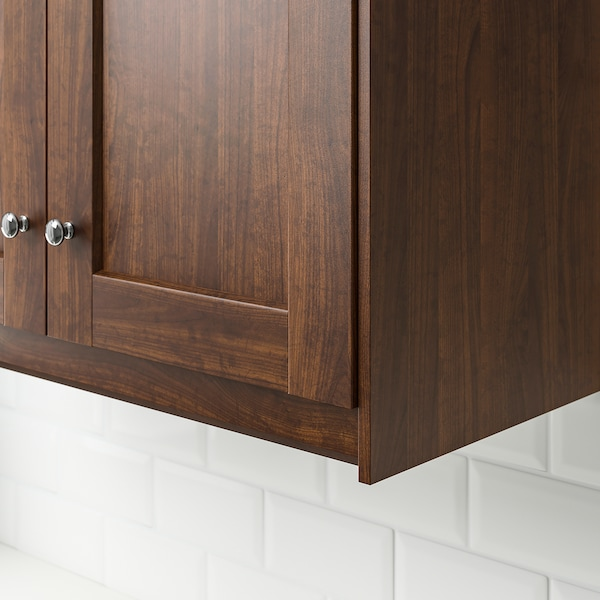 Edserum Contoured Deco Strip Moulding Wood Effect Brown 221 Cm Ikea