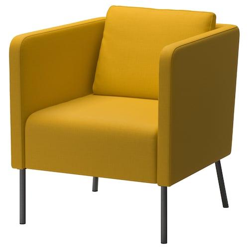 EKERÖ armchair Skiftebo yellow 70 cm 73 cm 75 cm 57 cm 46 cm 43 cm
