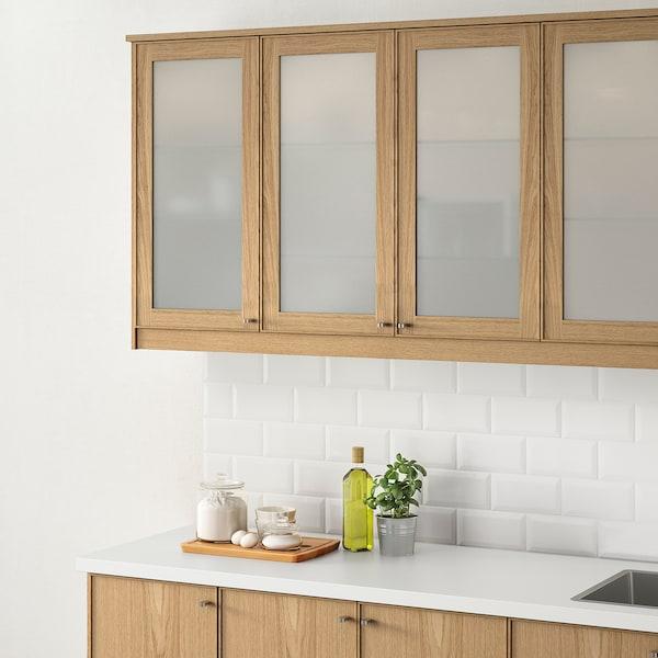 EKESTAD باب زجاج, سنديان, 40x100 سم