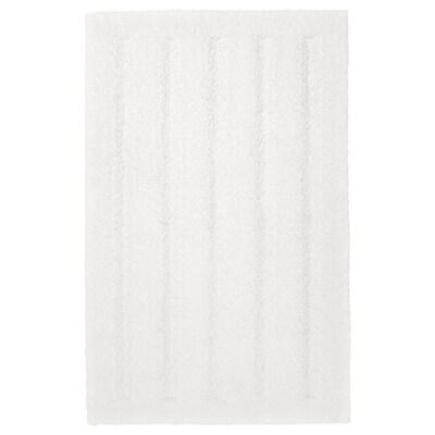 EMTEN سجادة للحمّام, أبيض, 50x80 سم