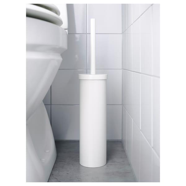 ENUDDEN toilet brush white 48 cm 9.7 cm