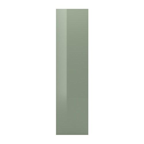FARDAL Door, high-gloss light green