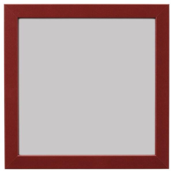 FISKBO Frame, dark red, 21x21 cm