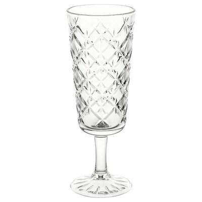 FLIMRA كأس, زجاج شفاف/منقوش, 19 سل
