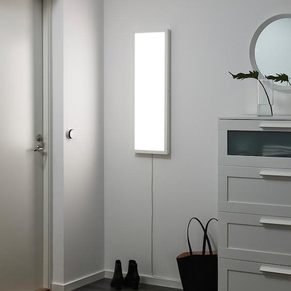 FLOALT لوحة إضاءة LED, خافتة للضوء/طيف أبيض, 30x90 سم