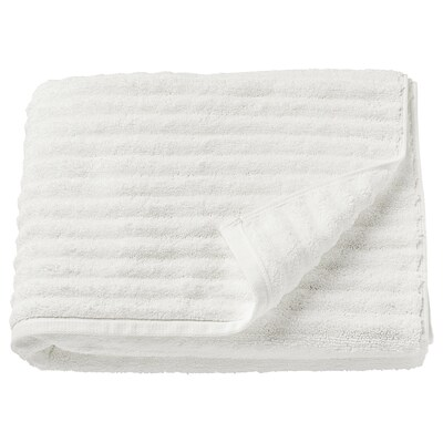 FLODALEN فوطة حمام, أبيض, 70x140 سم